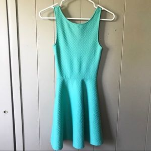 Tiffany Blue sleeveless Skater Dress